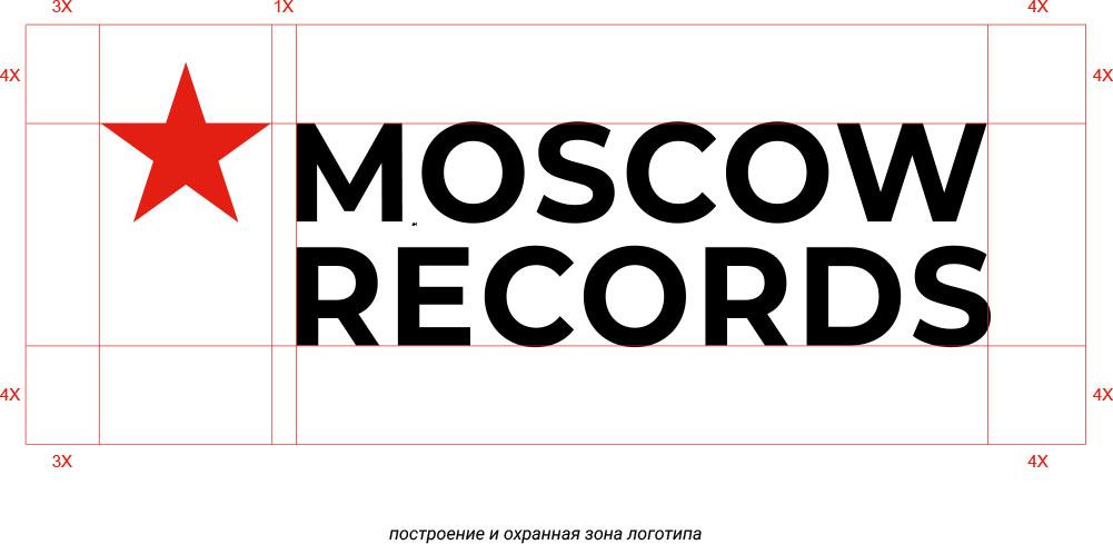 Нейминг и логотип студии звукозаписи Moscow Records