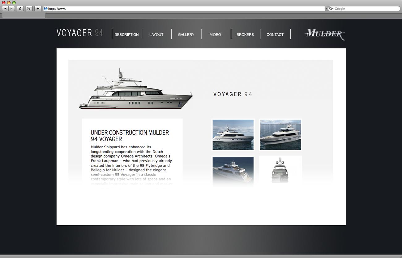 Сайт яхты Mulder 94 Voyager