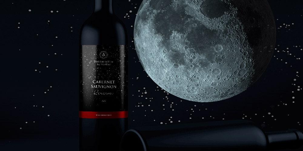Дизайн этикетки коллекции вин Destillate & Wine by Starline